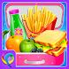 School Lunchbox Food Maker - Cooking Game