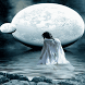White Moon Live Wallpaper by Daksh Apps