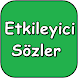 Etkileyici Sözler by Doctorapps