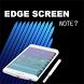 Edge Screen Note7 (FREE) by 4horsemen