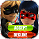 Fake Call Ladybug Miraculous by Just Pro Apps
