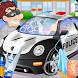 Police Car Wash by bweb media