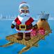Santa Raft Rider Xmas Gift Delivery by Big Driver Games