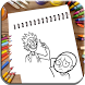 How To Draw Rick and Morty by tamdev