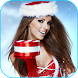 Woman Santa Live Wallpaper