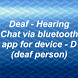 Deaf - Hearing chat device D by sarslander