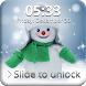 Frosty Snowman Screen Lock by Key Lock Skin