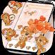 Cute Brown Bear Theme Kawaii Bear icons