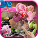 Pink Orchid 3D Live Wallpaper by CharlyK LWP