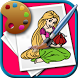 Coloring Princesses by ESoftware