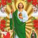 San Judas Tadeo by Fernando Campos solis