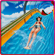 Water Slide Uphill Rush Racing by Blazing Stunt Games