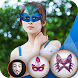 Face Mask Photo Maker Studio Face Mask Editor by InstaBerry
