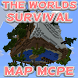 The Worlds Survival MAP MCPE by QueenXGames