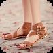 Flat Sandals Ideas by tokoitaki