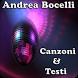 Andrea Bocelli Canzoni&Testi by andoappsLTD