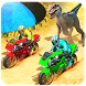 Dino Bike Attack Race: Offroad Bike Adventure 2018 by Gulf Games Studios