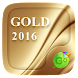 Gold 2016 GO Keyboard Theme by Popular Keyboard Theme