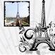 Paris Romantic Picture Frames by Jignesh Soni