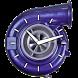 Turbo Spool Clock Watch Widget by Paolo Marinov