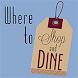 Where to Shop and Dine by SEO Web Mechanics