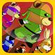 Teddy Ninja Jump by Aaira Studios