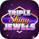 FREE SLOTS:Triple Shiny Jewels by Bluto Games