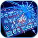 Neon Spider keyboard Theme by cool wallpaper