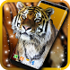 Tiger HD Live Wallpapers Free by 3D HD Moving Live Wallpapers Magic Touch Clocks