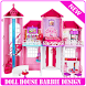 doll house barbie design by diyoapps