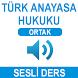 TÜRK ANAYASA HUKUKU SESLİ DERS by yes kampus