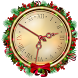 Happy Christmas Clock Live Wallpaper by Girls Fashion Apps