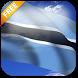 3D Botswana Flag LWP by App4Joy