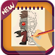 Draw Guardians of the Galaxy 2 by iDev-New : Drawing Apps
