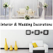 Interior & Wedding Decorations by Prioge