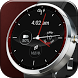 Red Lava Analog Watch Face by CritterMap Software LLC