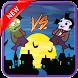 Zombie Versus Vampire by MJ-MartApp