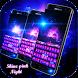 Shine pink night keyboard by Hot & Cool Theme