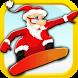 Hoverboard Santa Claus Rider by topdevbros