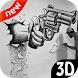 Learn To Draw 3D - 3D Drawing by Spartacus Drop