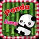 Panda Jump Funny by rudtana juntiwa