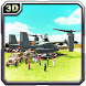 Army Cargo Helicopter Relief by Black Raven Interactive