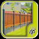 Modern Yard Fencing Design by Spirit Siphon
