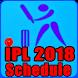 IPL 2018 Schedule by TA Softbd