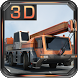 Construction Crane 3D Parking by Transylgamia