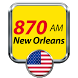 870 AM New Orleans Radio United States by moaiapps