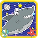 Tom The Shark Sliding Puzzle by Rumahan Studio