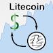 US Dollar / Litecoin Rate by 0nTimeTech