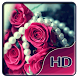 Rose and pearls Live Wallpaper by Live Wallpaper Background
