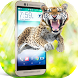 Wild Tiger hungry in phone screen scary joke by Enjoy4Fun